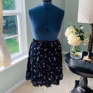 torrid Skirts - Torrid Floral Skater Skirt Size 3X